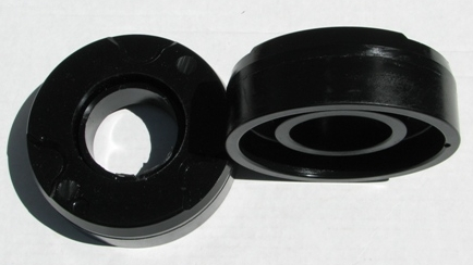 A brand new set of urethane lift kit spacers