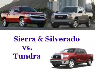 Toyota Tundra versus GMC Sierra Chevy Silverado Mechanicals