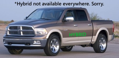The new Ram hybrid won't be available at all Dodge dealers.