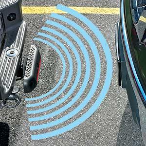 Parking sonar diagram.