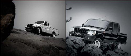 Mahindra's new pickup trucks.