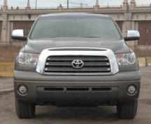 Front view of Toyota Tundra
