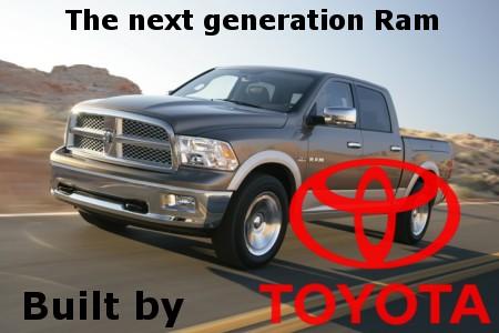 Build A Dodge >> Toyota To Build Next Generation Dodge Ram Tundra
