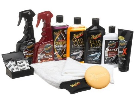 Meguiars complete car car kit.