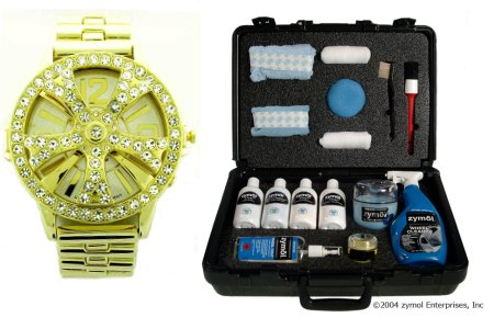 Zymol's $300 complete detail kit - Iced Out watch sold separately.