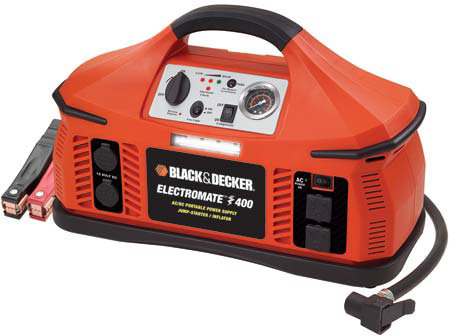 Black and Decker's Electromate 400 is a nifty emergency battery.