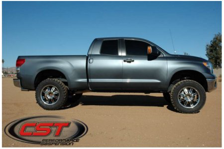 CST offers lift kits for the Toyota Tundra from 2 to 7 inches.