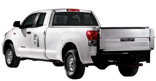 Toyota Tundra with a Tommy Gate