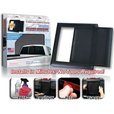 Clean breeze screen for your truck's rear window
