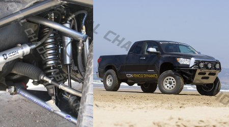The Total Chaos long travel suspension kit is the real deal.