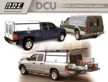 ARE (among others) makes dozens of varieties of truck toppers for personal and commercial use.