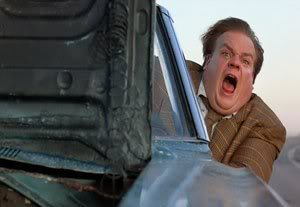Car hoods flying open are only funny in the movies.