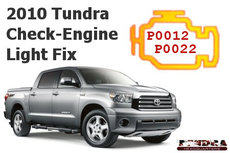 2010 Toyota Tundra VVT-i gear assembly TSB