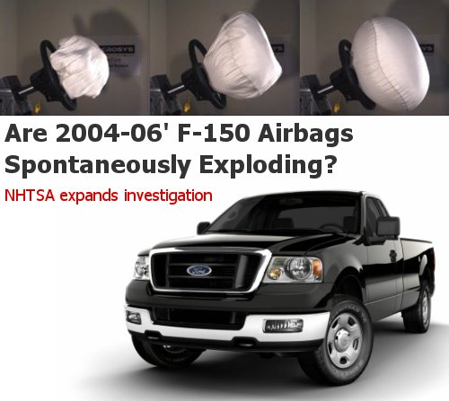 F150 airbags