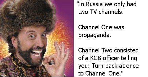 Yakov Smirnoff joke about Soviet Union
