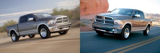 2009 Dodge Ram Tow Rating vs. 2010 Dodge Ram Tow Rating