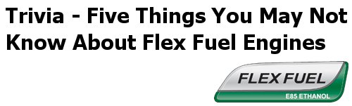 Five Things You May Not Know About Flex-Fuel Engines