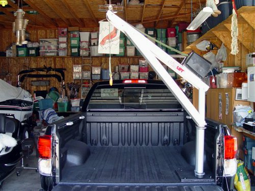 Spitzlift truck crane with DC motor