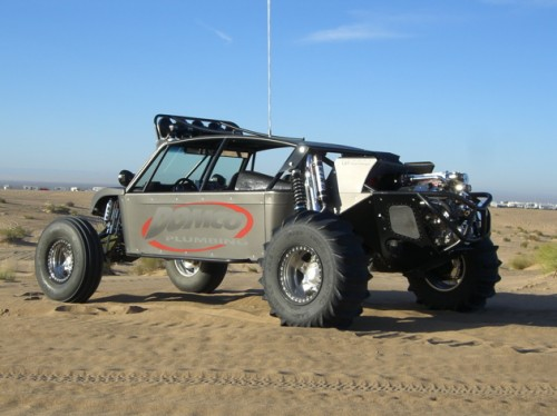 Motoart Sand Car Rear