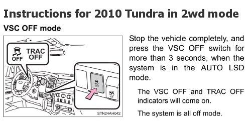 Tundra VSC Shut Off Instructions Tundra Headquarters Blog