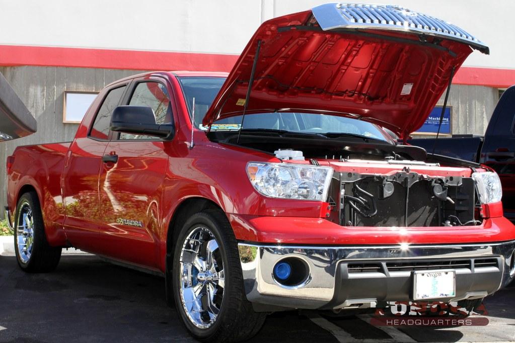 Chromed-up Toyota Tundra