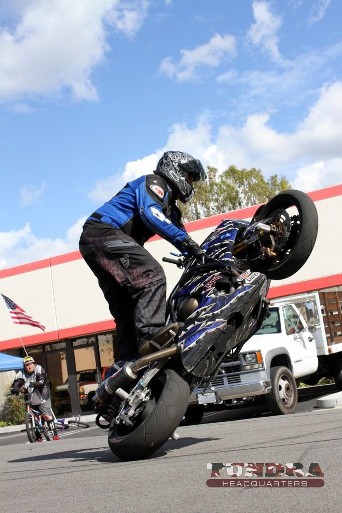Stunt Bike Riding Sideways - Second shot