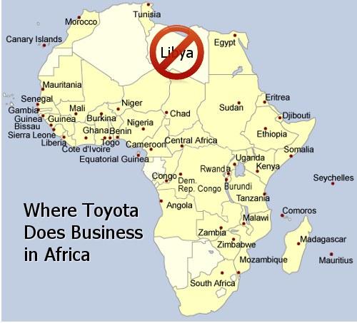 Toyota Africa distribution