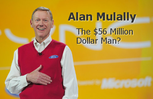 Alan Mulally and Auto Executive Compensation
