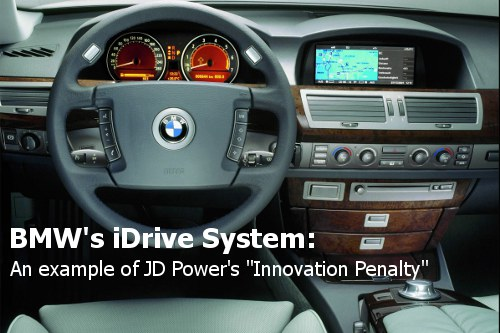BMW's iDrive JD Power Quality Ratings