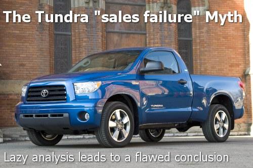 Tundra sales failure
