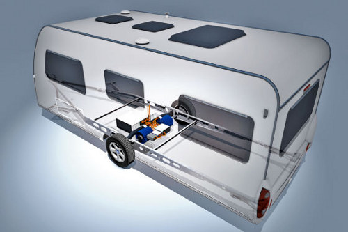 Knaus Tabber hybrid camper.