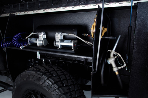 Ultimate Motocross Tundra washer and gas pump