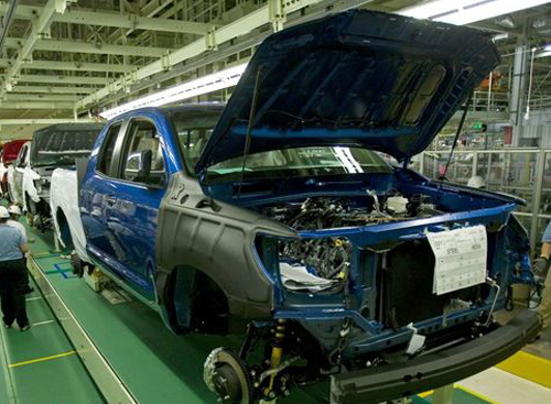 Toyota Production Suffers from Parts Shortage