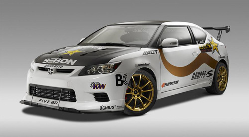 2011 SEMA Scion tC Gruppe S by Dynamic