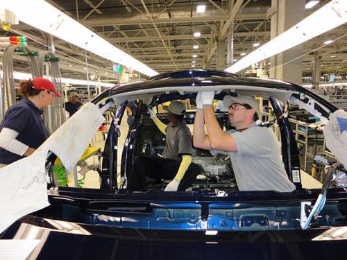 Toyota opens U.S. plant