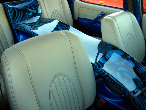 Custom Leather Seats