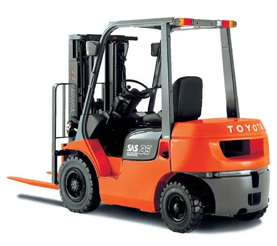 Toyota Fork Lifts Number 1 In the Country