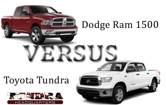 Toyota Tundra Vs. Dodge Ram