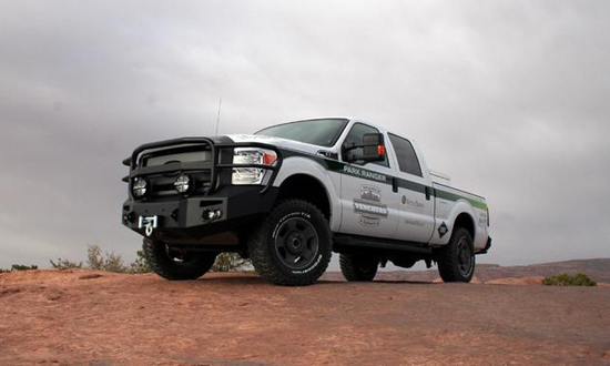 CNG Powered Ford Tackles Moab