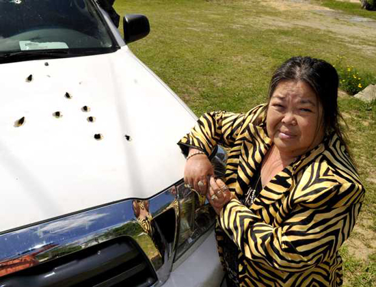 Granny Fends Off Robbers