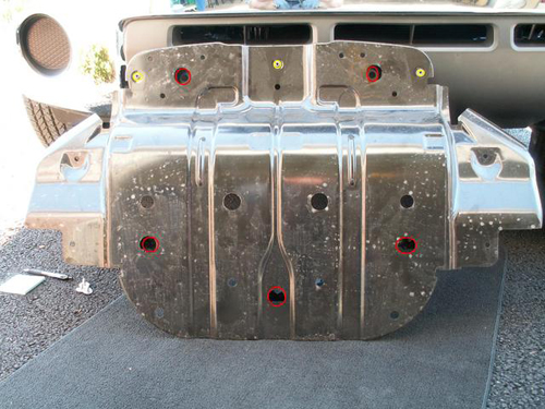 00 01 02 03 toyota tundra radiator guard skid plate skidplate front ships free
