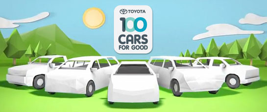 Toyota Announces First 25 Cars for Good 2012 Program Winners