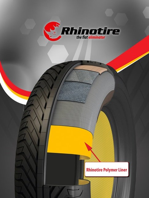 Rhinotire Promises No More Flats