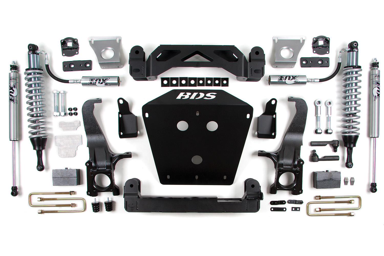 "BDS 7"" Lift Kit with Fox Racing Coil-Overs"