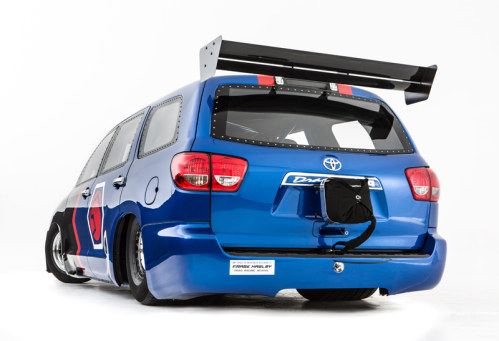 DragQuoia - Toyota Sequoia Dragster - Rear