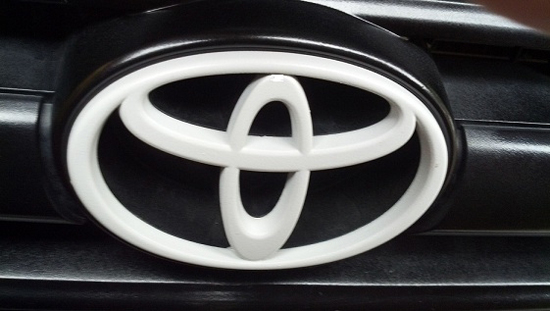 Featured Truck - Black and White Custom 2000 Toyota Tundra - Logo