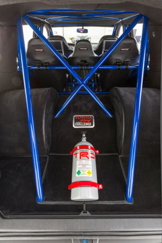 DragQuoia - Toyota Sequoia Dragster - Interior