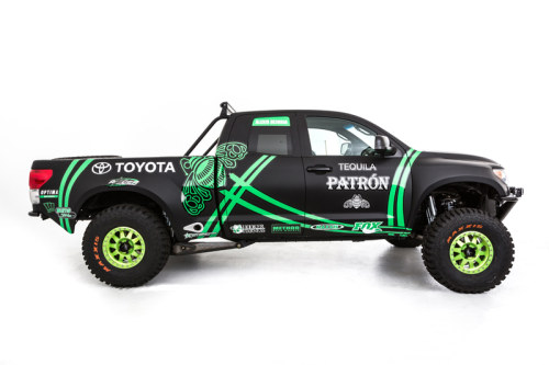 Toyota Racing Dream Build - DeJoria Toyota Tundra - Side Profile