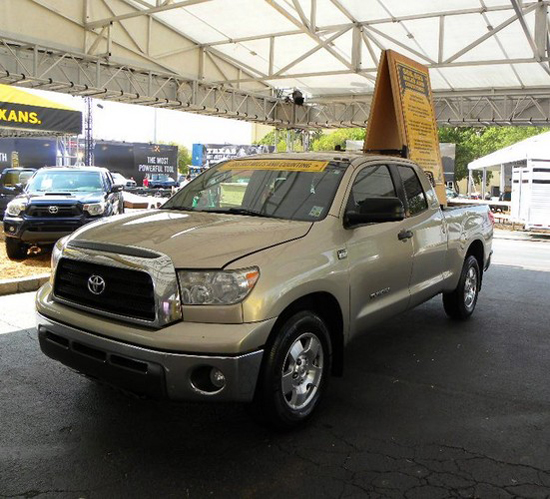 2007 Toyota Tundra with 666,803 miles