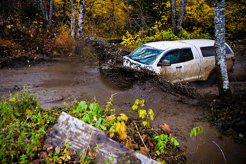 Off-Roading Canada - Toyota Tundra Mudding Picture
